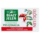Biały Jeleń Hipoalergiczne mydło naturalne premium z głogiem i lnem 100 g