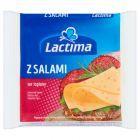 Lactima Ser topiony w plasterkach z salami 130 g (8 x 16,25 g)