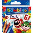 Kredki świecowe 12 kolorów moje Bambino