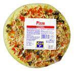 Pizza z szynką wieprzową z dodatkiem pieczarek  300g