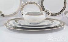 Serwis obiadowy bez wazy dla 12 os. / 44 części - G627 YVONNE