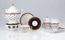 Garnitur do herbaty dla 12 osób / 41 części - G364 ASTRA Fryderyka