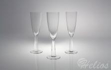 Handmade /  Kieliszki do szampana 160 ml - BEZBARWNE (5473)