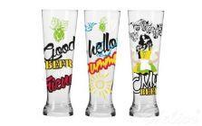 Szklanki do piwa 500 ml / 3 szt. - Summer Deco (KP-0957)