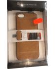 SLGDesign D6 IMBL Card Pocket etui do iPhone SE/5/5S jasnobrązowe