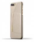 Etui do iPhone 7/8 Plus Mujjo Leather Wallet - szampańskie