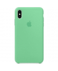 Etui do iPhone Xs Max Apple Silicone - zielone