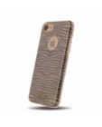 Etui do iPhone 7/8 JUST CAVALLI Leo Zebra Glitter Cover - złote