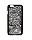 Etui do iPhone 6/6s TB Linie papilarne - czarne