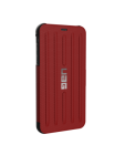 Etui do iPhone Xs Max UAG Metropolis - czerwone