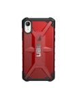 Etui do iPhone Xr UAG Plasma - czerwone przeźroczyste