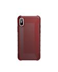 Etui do iPhone X/Xs UAG Plyo - czerwone przeźroczyste