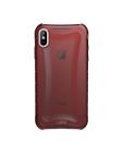 Etui do iPhone Xs Max UAG Plyo - czerwone przeźroczyste