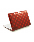 Etui do MacBook Pro 13 Hard Candy Bubble Shell V2 - czerwone
